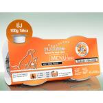 Menu Mini Turkey + Salmon 1 karton -  12 x 100 gr
