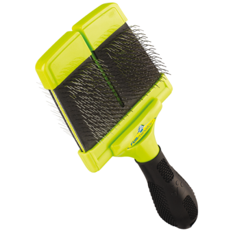FURminator Slicker Brush - Kemény sörtéjű kétoldalas kefe (nagy)