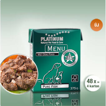 Menu Pure Fish 48 x 375 gr