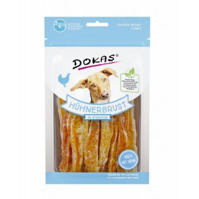 Dokas szárított csirkemell csíkokban kutyáknak 70g