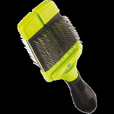 FURminator Slicker Brush - Kemény sörtéjű kétoldalas kefe (kicsi)