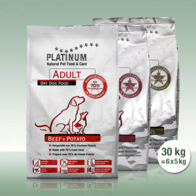 Adult Trio 10kg marha 10kg bárány 10kg ibériai sertés