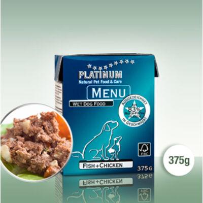 Menu Fish + Chicken / Hal + Csirke 375 gr