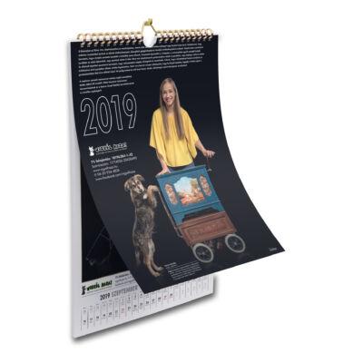 Vigyél Haza Alapítvány 2019 naptár
