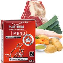 Menu Beef + Chicken / Marha + Csirke felnőtt nedvestáp 12 x 375 gr