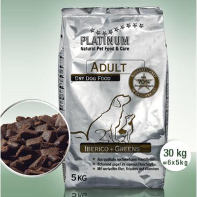 Adult Iberico + Greens / Ibériai sertés + Zöldség felnőtt kutyatáp 30 kg