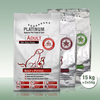 Adult Trio - 5 kg Bárány, 5 kg Marha, 5 kg Csirke