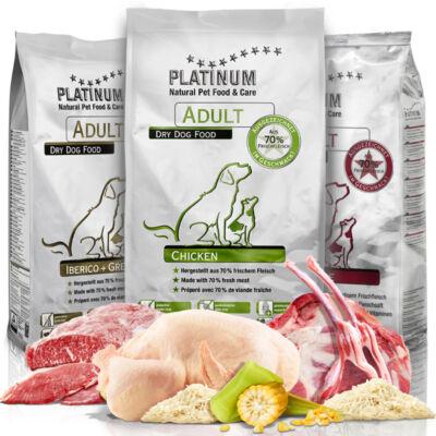 Adult Trio - 1,5 kg Bárány, 1,5 kg Ibériai Sertés, 1,5 kg Csirke