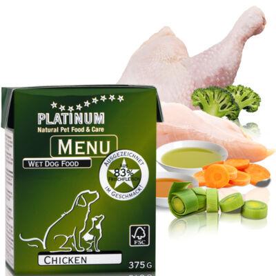 Menu Chicken / Csirkés felnőtt nedvestáp 375 gr